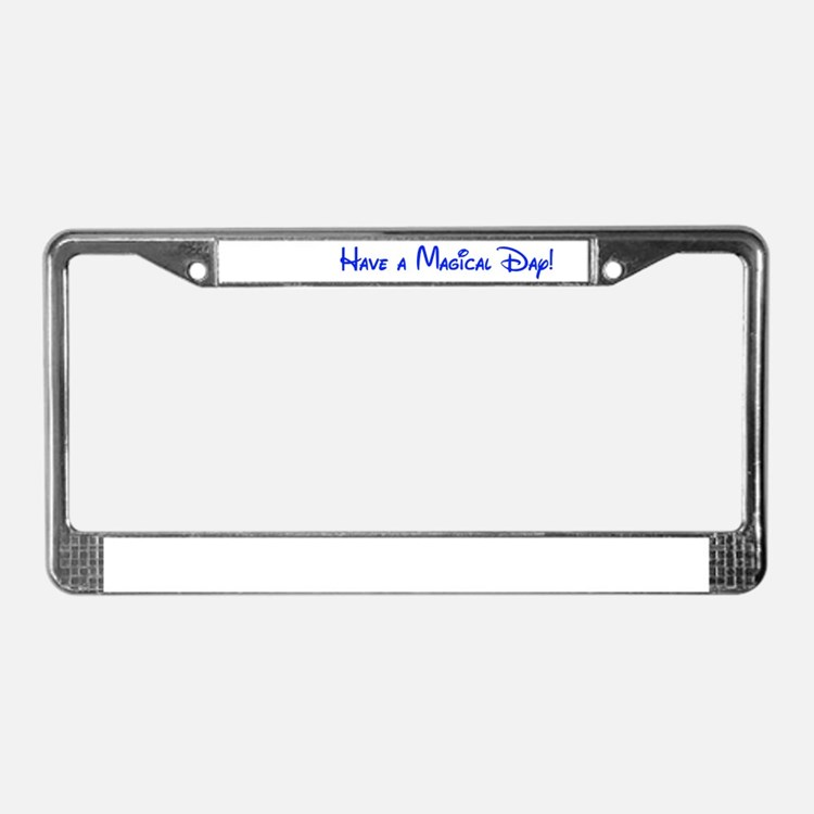 Magical Day License Plate Frame