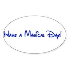 Magical Day Oval Decal