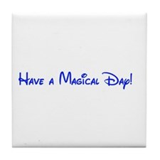 Magical Day Tile Coaster