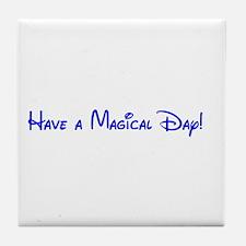 Magical Day Tile Coaster