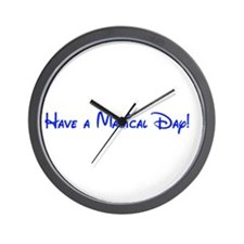 Magical Day Wall Clock