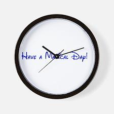 Magical Day Wall Clock