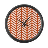 Burnt orange Giant Clocks