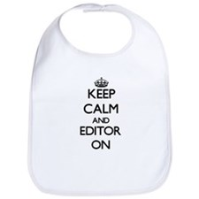 Keep Calm and Editor ON Bib