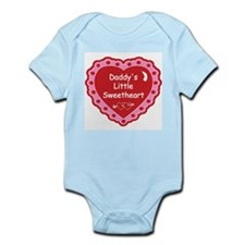 Daddy's Little Sweetheart Body Suit