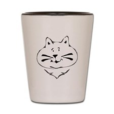Cat Face Shot Glass
