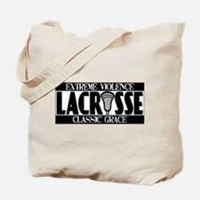 Lacrosse Extreme Violence Tote Bag