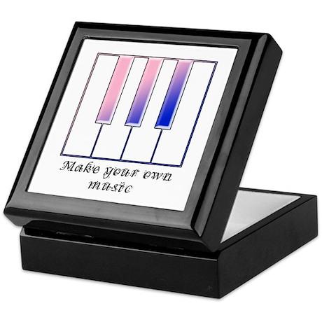 Make your own music Keepsake Box