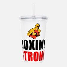Boxing Strong Acrylic Double-wall Tumbler
