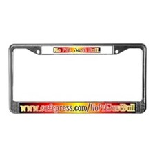 Fire License Plate Frame