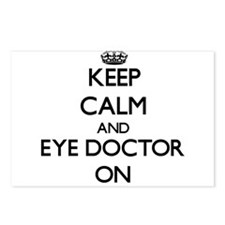 Keep Calm and Eye Doctor Postcards (Package of 8)