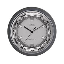 Vanguard Multispin Wall Clock
