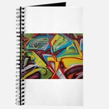 Colors vibrant graffiti art Journal