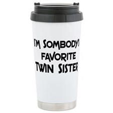 Cute Sister Travel Mug