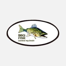 BIG FISH CONTROL MY BRAIN Patches