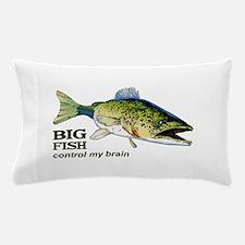 BIG FISH CONTROL MY BRAIN Pillow Case