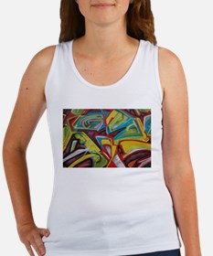 Colors vibrant graffiti art Tank Top