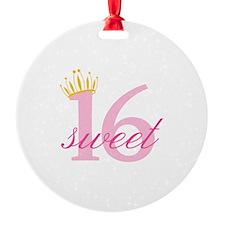 Sweet Sixteen Ornament