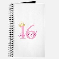 Sweet Sixteen Journal