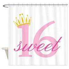 Sweet Sixteen Shower Curtain