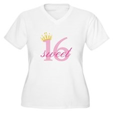 Sweet Sixteen Plus Size T-Shirt