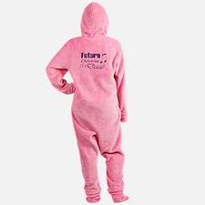 Future Christine Daae Footed Pajamas