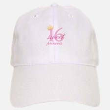Sweet Sixteen Princess Baseball Cap