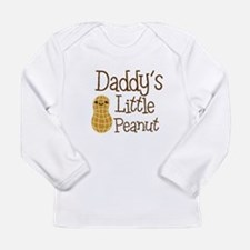 Daddy's Little Peanut Long Sleeve T-Shirt