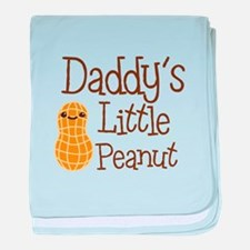 Daddy's Little Peanut baby blanket