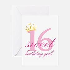 Teen Birthday Girl Greeting Cards
