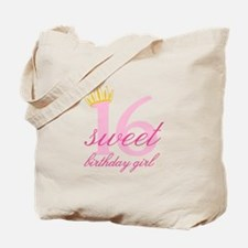 Teen Birthday Girl Tote Bag