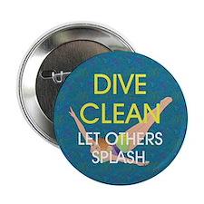 """TOP Dive Clean 2.25"""" Button"""