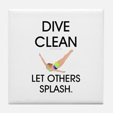 Dive Clean Tile Coaster
