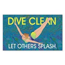 Dive Clean Decal