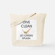 Dive Clean Tote Bag