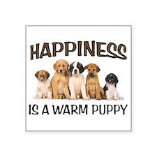 WARM PUPPIES Sticker