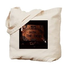 Conversations With the Devil Tote Bag