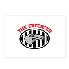 THE ENFORCER Postcards (Package of 8)