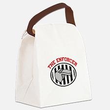 THE ENFORCER Canvas Lunch Bag