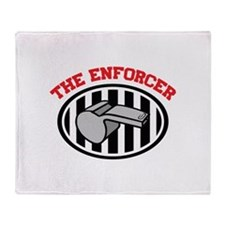 THE ENFORCER Throw Blanket