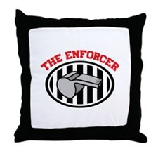 THE ENFORCER Throw Pillow