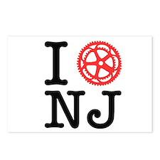 I Bike NJ Postcards (Package of 8)
