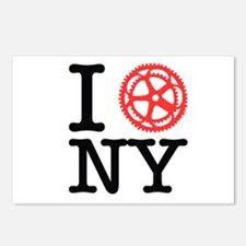 I Bike NY Postcards (Package of 8)