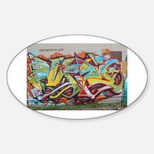 Color Graffiti Decal