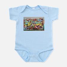 Color Graffiti Body Suit