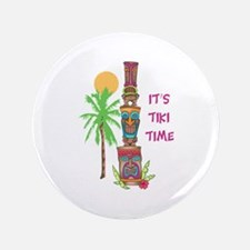 """ITS TIKI TIME 3.5"""" Button (100 pack)"""