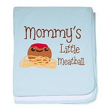 Mommy's Little Meatball baby blanket