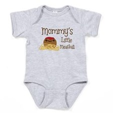 Mommy's Little Meatball Baby Bodysuit