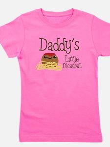 Daddy's Little Meatball Girl's Tee
