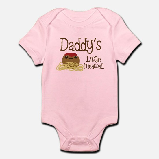 Daddy's Little Meatball Body Suit
